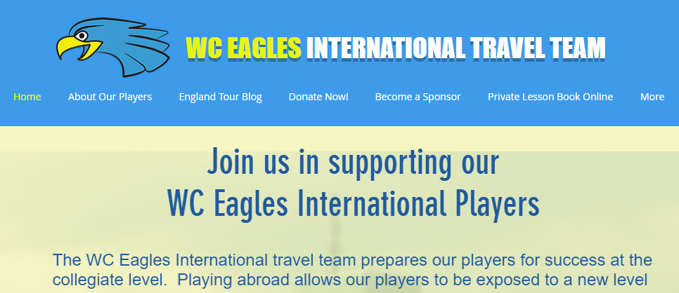 WC Eagles International Travel Team